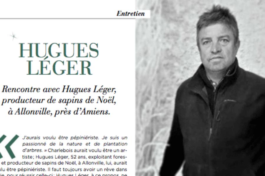 Retrouvez Hugues Léger dans le magazine Instinct du Courrier picard